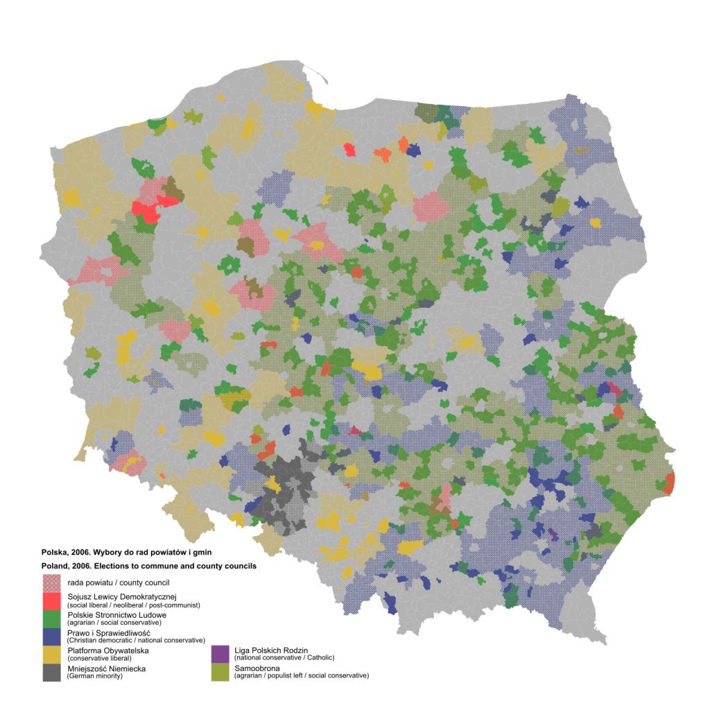Wybory do rad powiatów i gmin z 2006