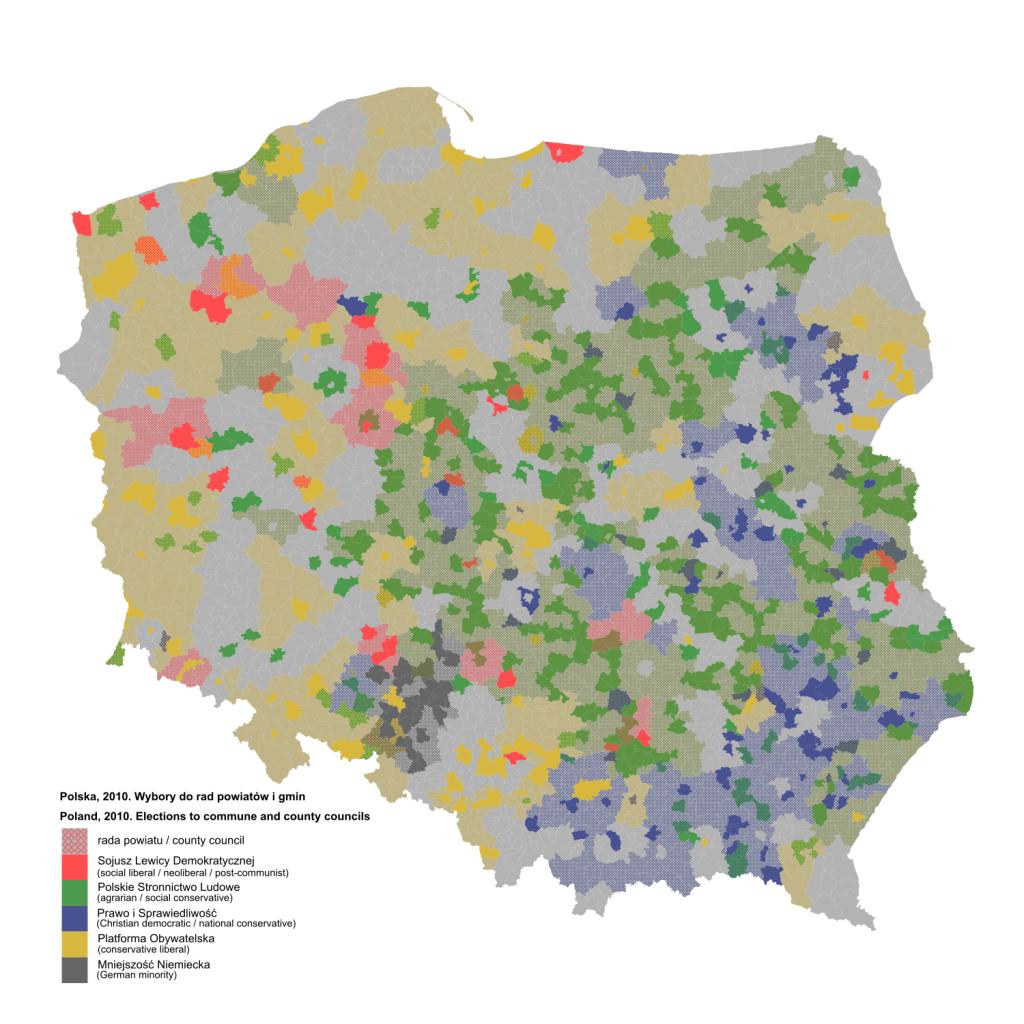 Wybory do rad powiatów i gmin z 2010