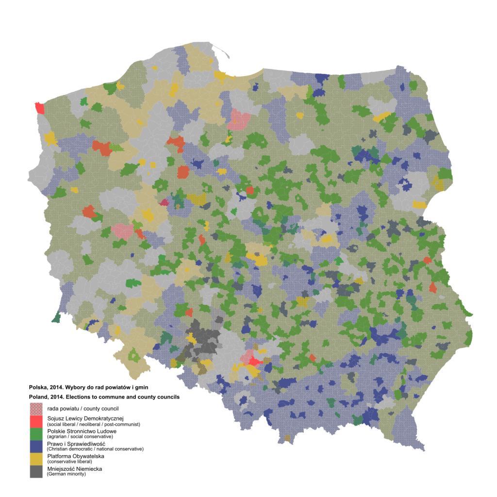 Wybory do rad powiatów i gmin z 2014