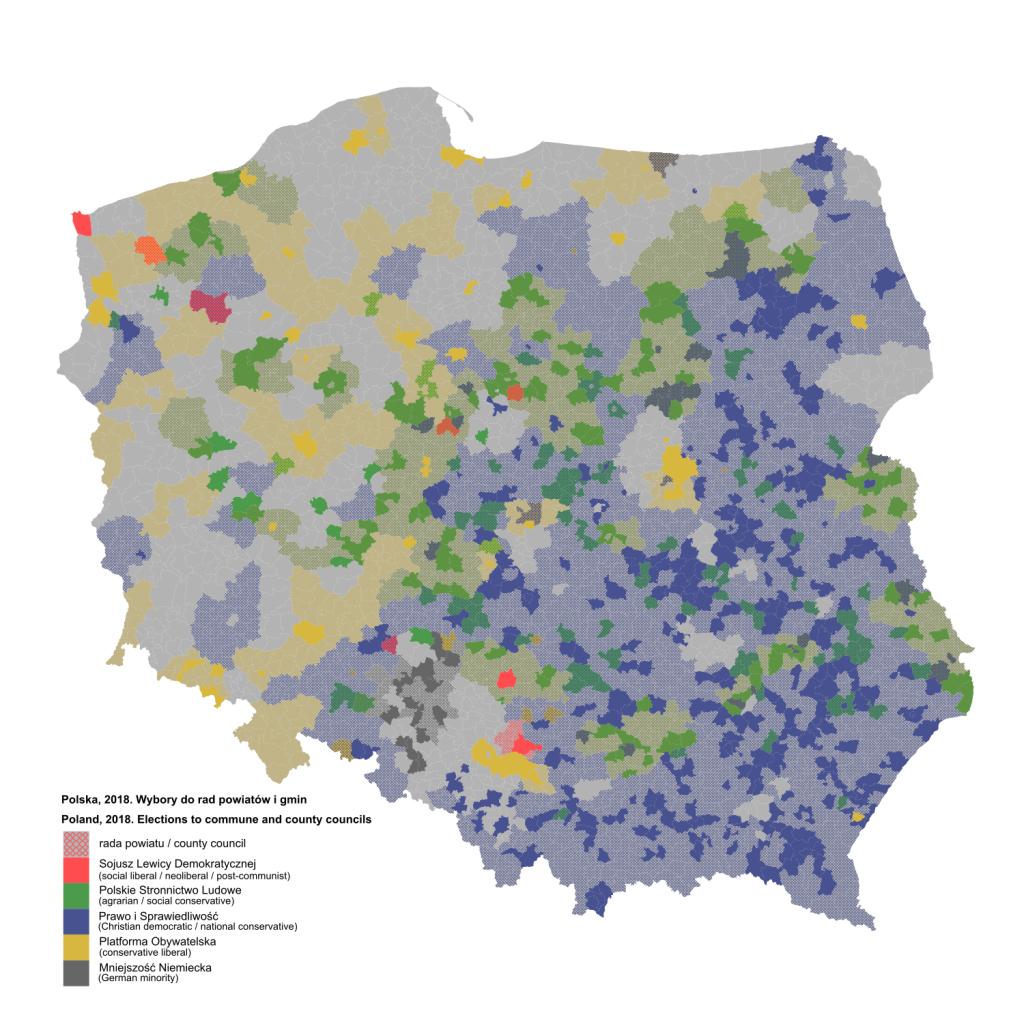 Wybory do rad powiatów i gmin z 2018